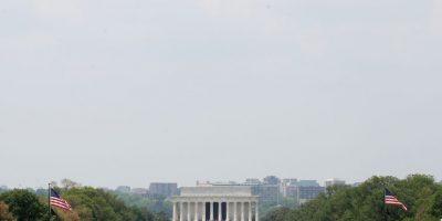 El presidente Barack Obama recordó los 70 años del fin de la Segunda Guerra Mundial. Foto:Getty Images