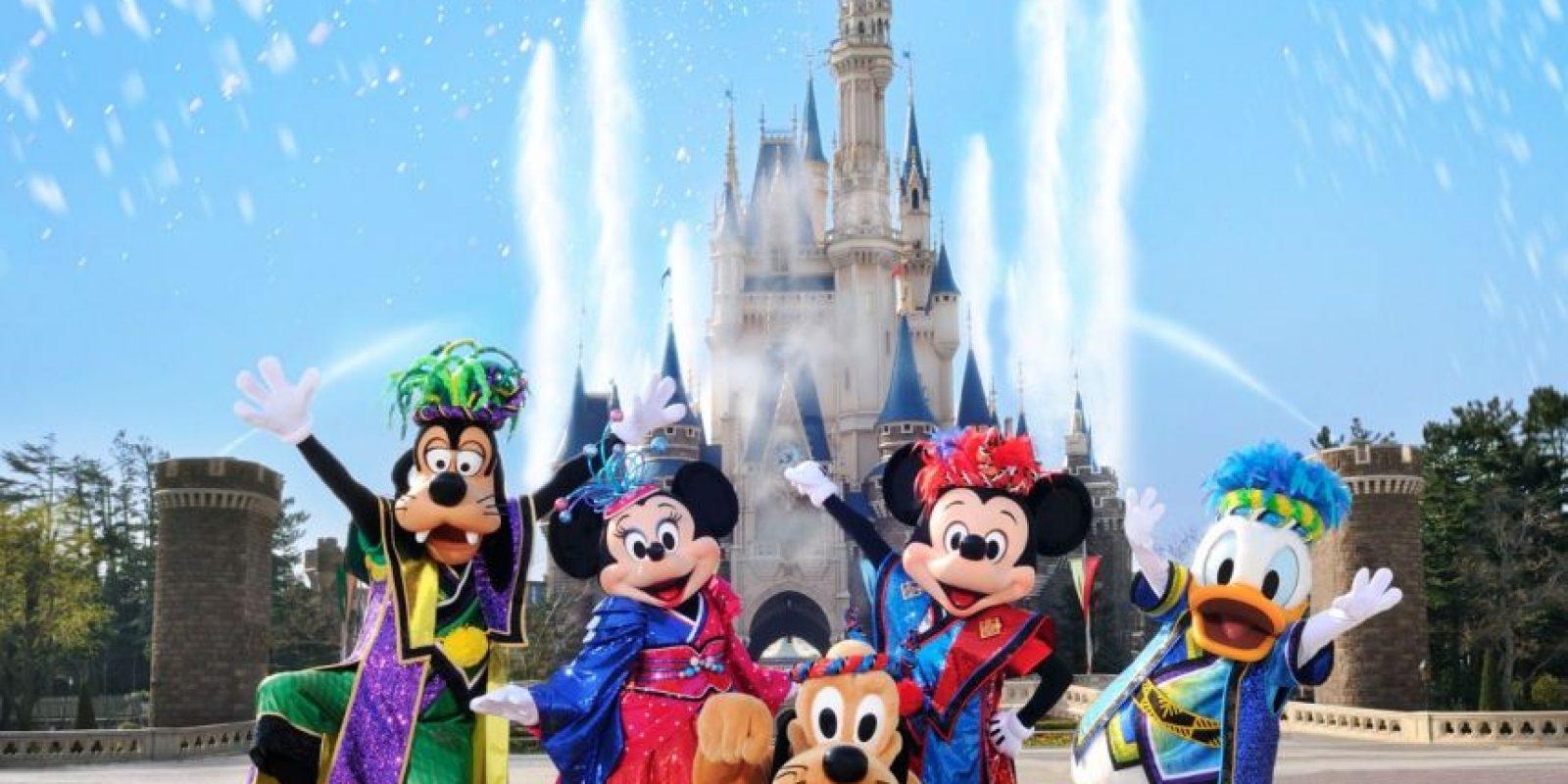 En cada parque encontrarás la figura de Mickey en miles de lugares. Algunos, tan pequeños como la decoración del marco de un cuadro Foto:Disney