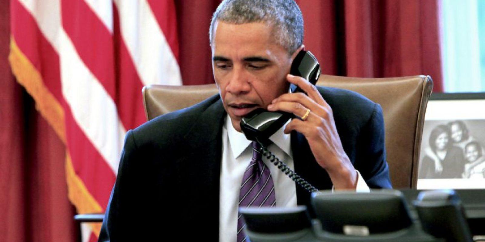 EL día de las madres el presidente estadounidense Barack Obama llamó a tres mujeres para felicitarlas. Foto:Getty Images