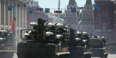 En esta fecha tradicionalmente se producen desfiles militares. Foto:Getty Images