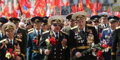 El Día de la Victoria no fue conmemorado de modo generalizado en la URSS hasta después de veinte años, en 1965. Foto:Getty Images