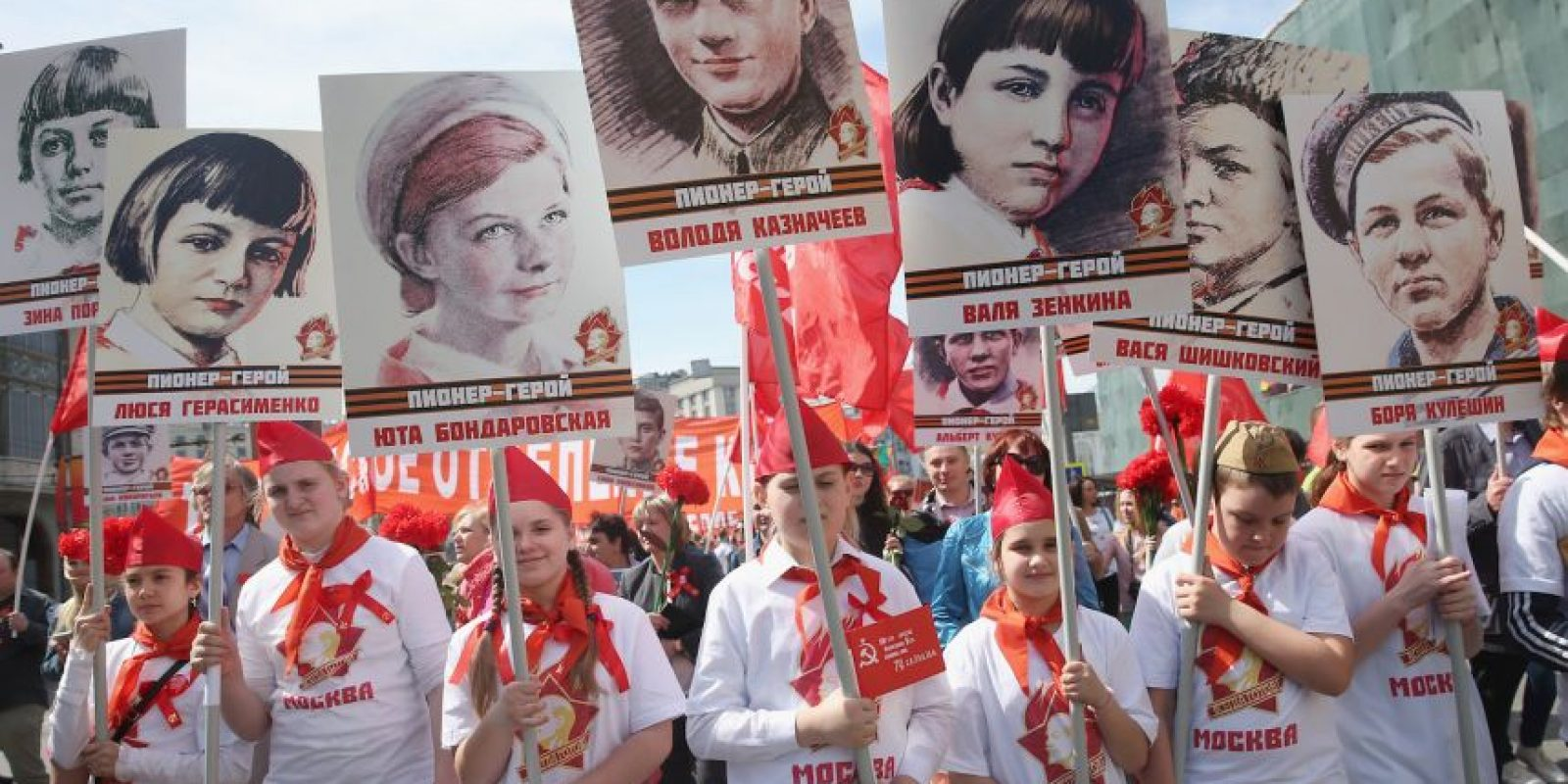 Al evento asistieron los presidentes de varios países, incluyendo Bulgaria, República Checa, Estonia, Lituania, Rumania y Ucrania. Foto:Getty Images