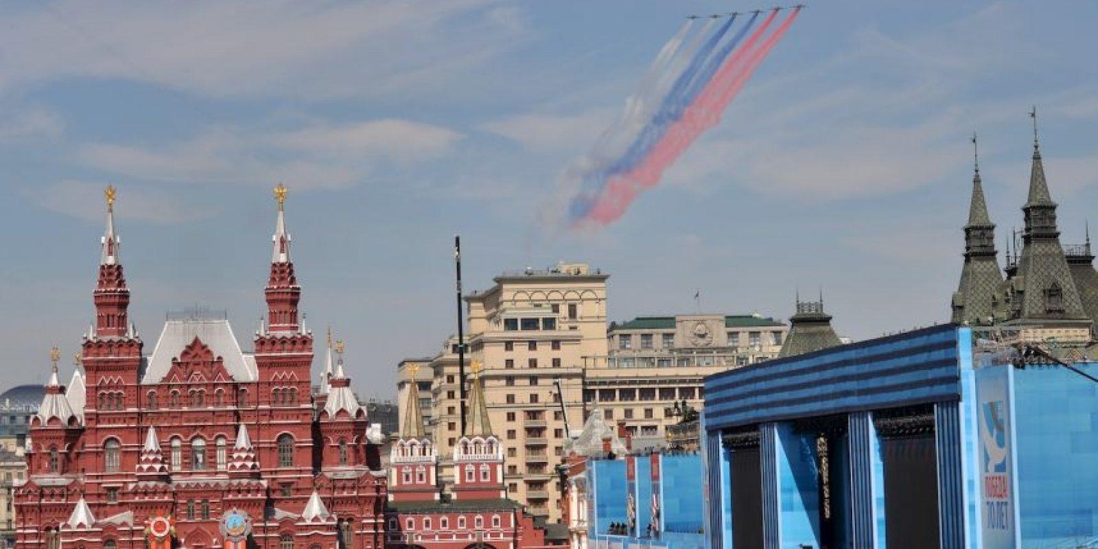 El Día de la Victoria es día festivo en Rusia, Ucrania y en la mayoría de antiguas repúblicas soviéticas Foto:Getty Images