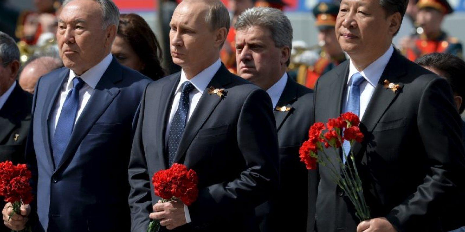 Moscú conmemora el 70 aniversario de la victoria en la Segunda Guerra Mundial. Foto:Getty Images