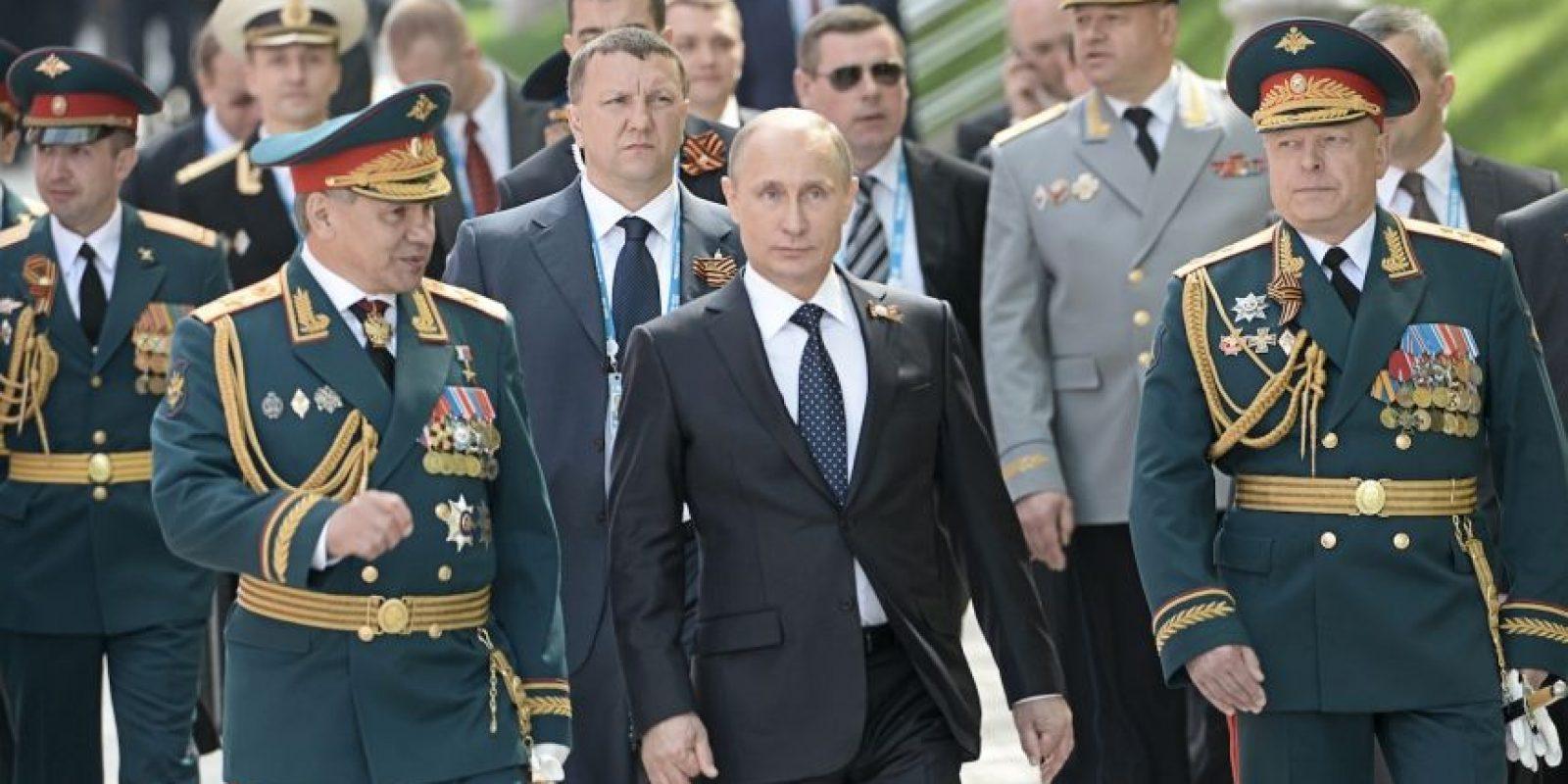 No asistieron muchos líderes de occidente por el supuesto papel de Rusia en la crisis de Ucrania. Foto:Getty Images