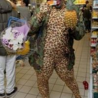Animal print y piña no se llevan bien Foto: People of walmart