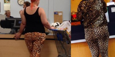 Más animal print Foto: People of walmart