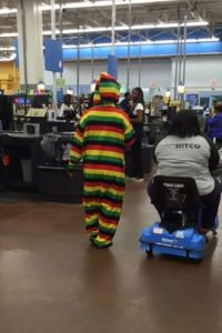 Estilo rastafari Foto: People of walmart