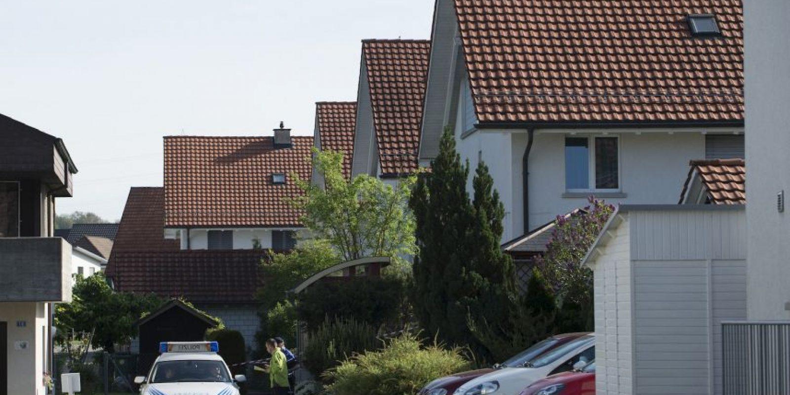 Cinco personas murieron en un tiroteo por la noche en Suiza Foto:AP