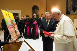 6. Raúl Castro viaja al Vaticano Foto:AFP