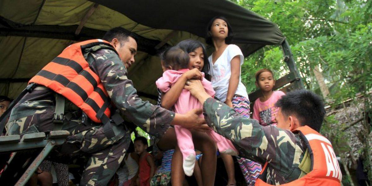 FOTOS: Así vivió Filipinas el azote del supertifón