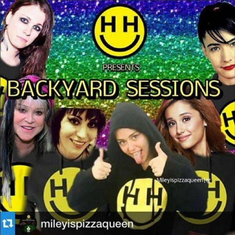 Ariana Grande y la hija de Lenny Kravitz son algunas de las celebridades que apoyan a Cyrus y Happy Hippie Foto:vía facebook.com/HappyHippieFoundation