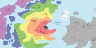 Se trata de un mapa de discusión, como parte de un DDS global distribuido Foto:Reddit