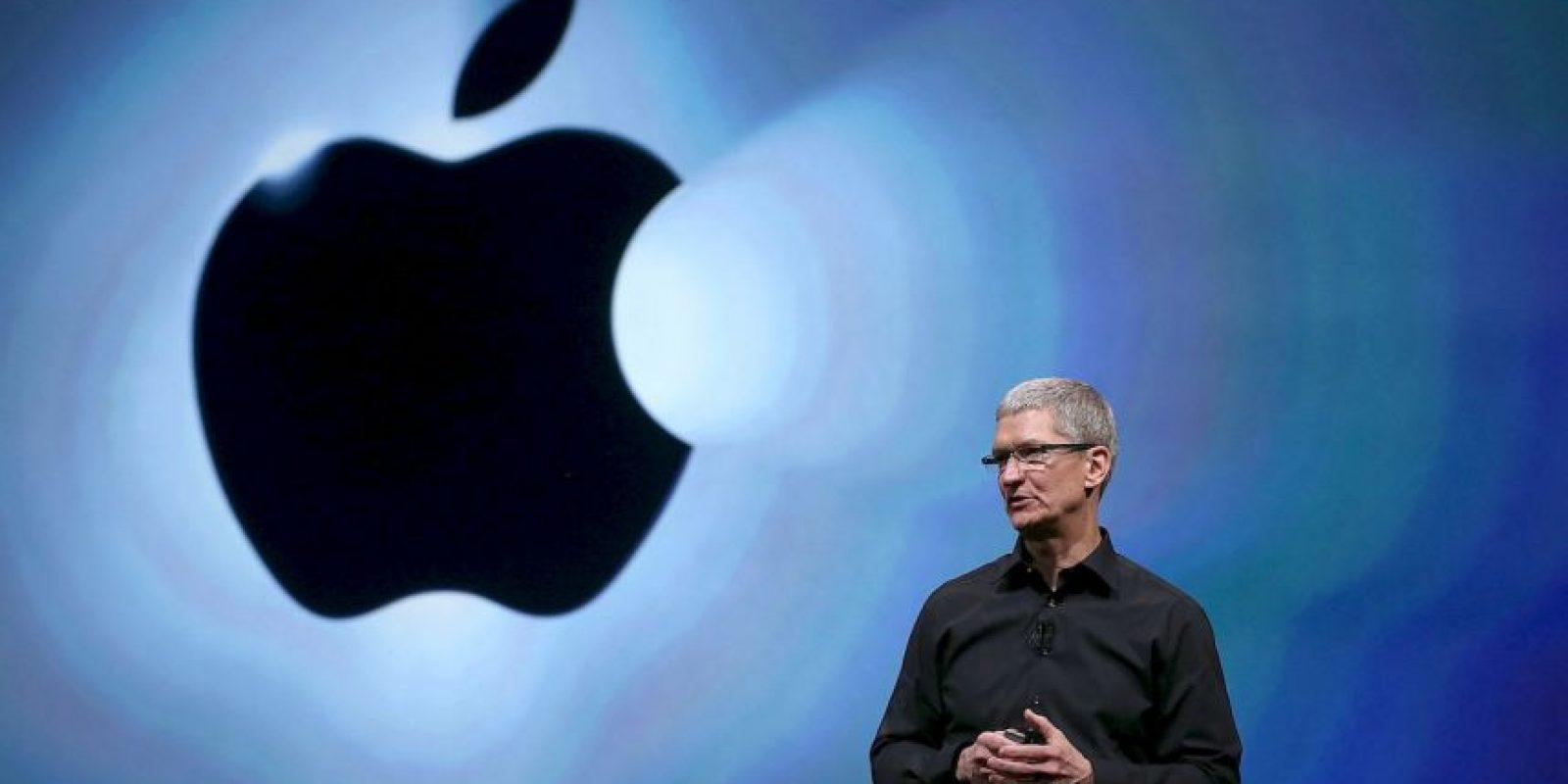 3. Tim Cook- El CEO de Apple anunció recientemente que donará su fortuna. Foto:Getty Images
