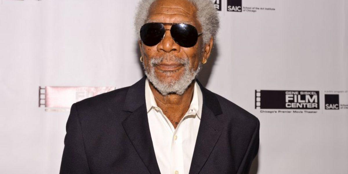 Morgan Freeman defiende uso de la marihuana