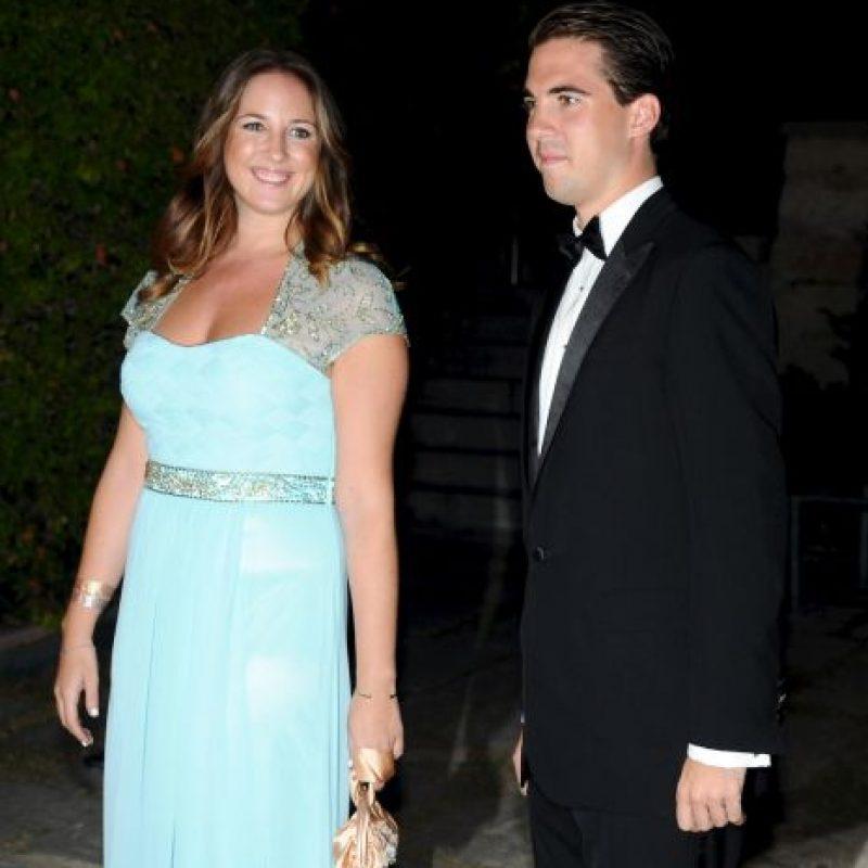 Es ahijado de Lady Di e hijo del Rey Constantino Foto:Getty Images