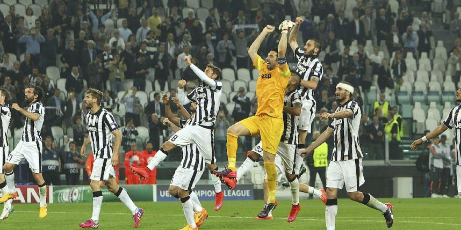 Juve venció 2-1 al Real Madrid, en Turín, en el partido de ida Foto:Getty Images