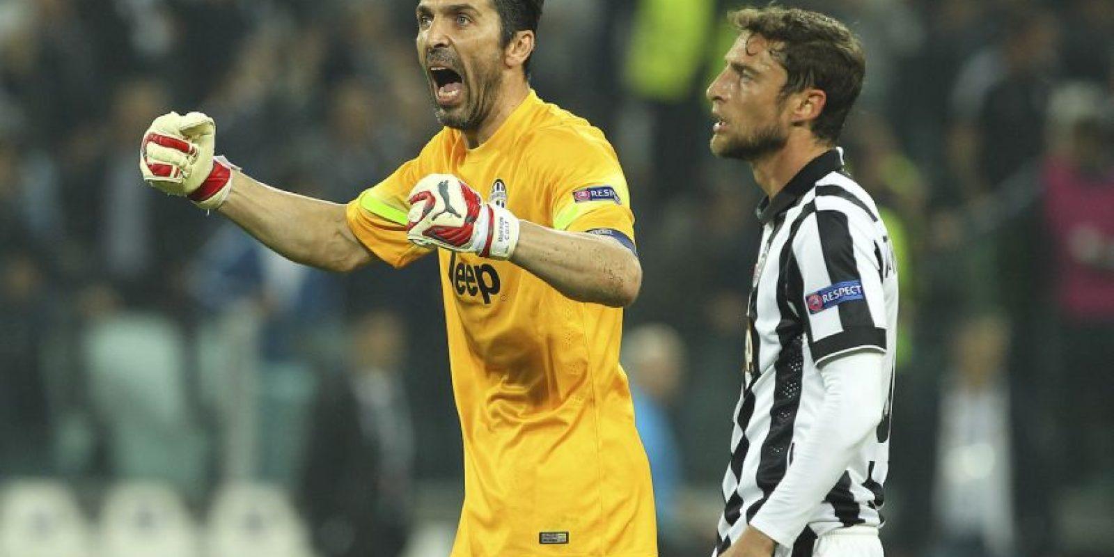 El campeón de Italia avanzaría a la final si gana o empata el partido de vuelta que se jugará en el Santiago Bernabéu Foto:Getty Images