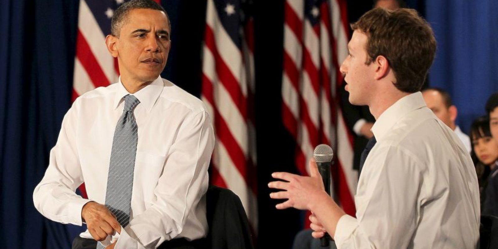 Mark Zuckerberg- 2. El año pasado causó revuelo en todo el mundo al haber hecho junto con su esposa Priscilla Chan un donativo de 120 millones de dólares para escuelas públicas en San Francisco, California. Foto:Getty Images