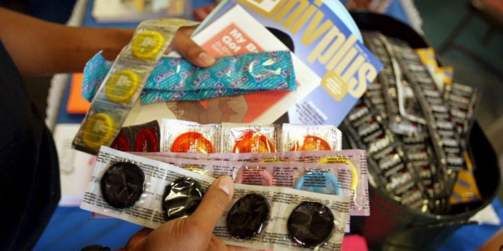 Candidato del Partido Popular español usa condones como propaganda. Foto:Getty Images