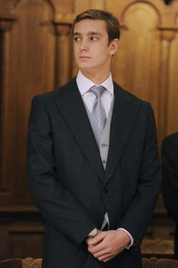 Es el tercer hijo de Carolina de Mónaco y Stéfano Casiraghi Foto:Getty Images