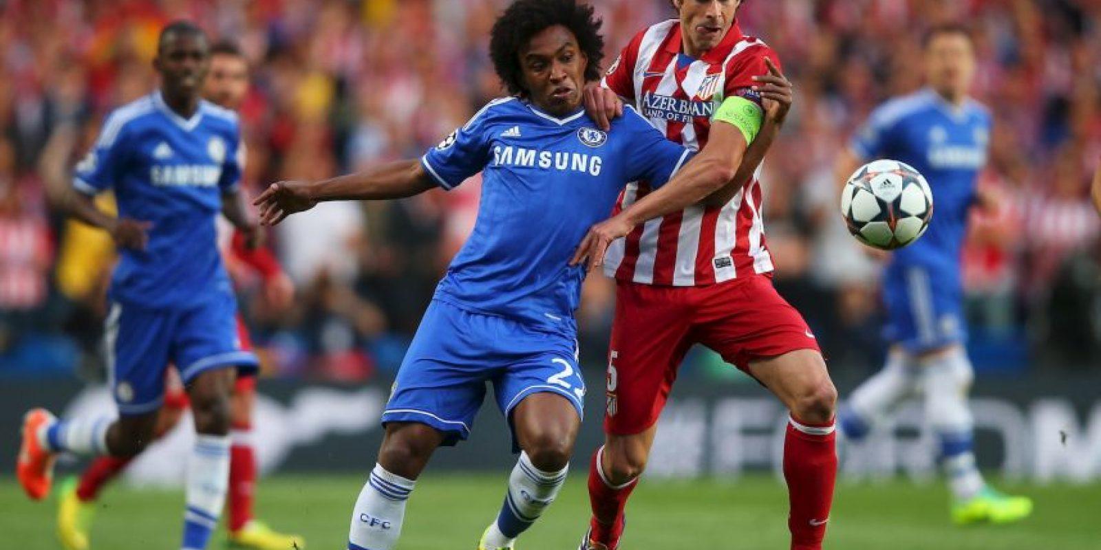 Atlético de Madrid igualó 0-0 con Chelsea en la ida; pero en la vuelta se impuso 3-1. Foto:Getty Images