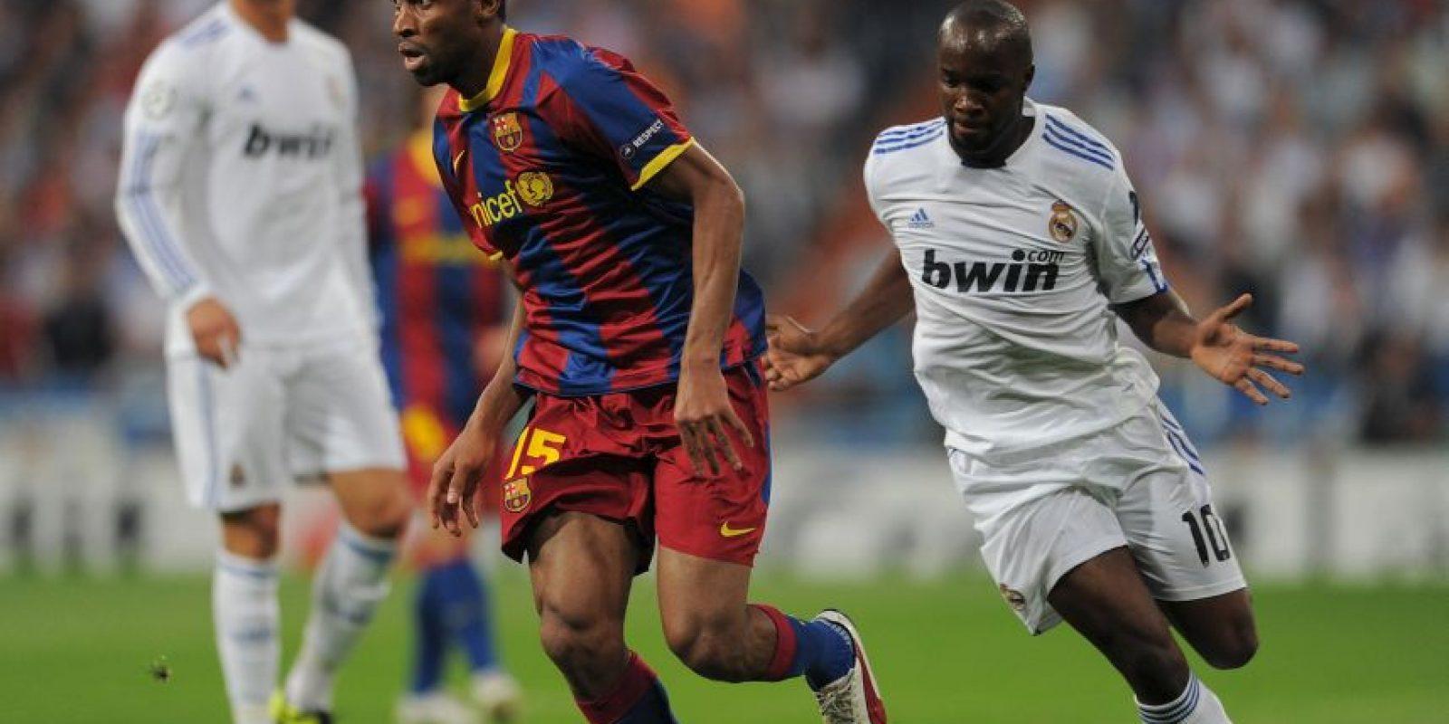 Y ambos fueron eliminados por Manchester United y Barcelona. Es la última vez que los equipos que jugaron la ida en casa quedaron fuera Foto:Getty Images