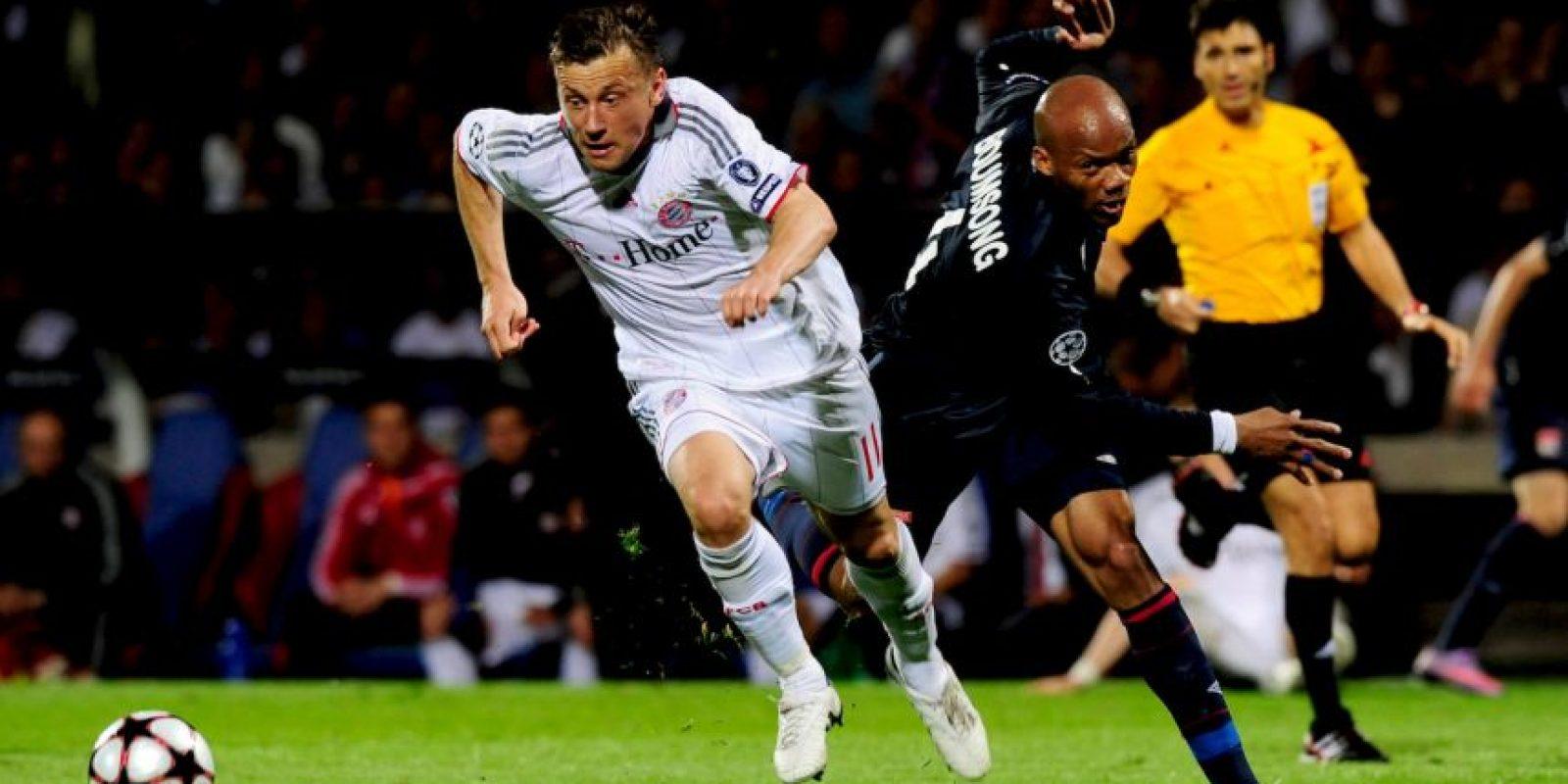 En la campaña 2009-2010, Inter de Milán y Bayern Múnich recibieron el primer partido. Foto:Getty Images