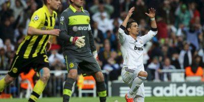 Borussia Dortmund superó 4-1 al Real Madrid en el juego de ida; en la vuelta, los blancos ganaron con un insuficiente marcador de 2-0 Foto:Getty Images