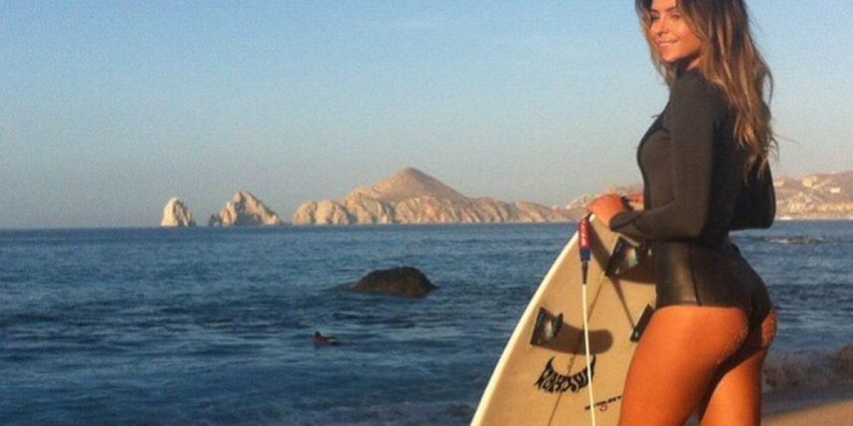 Anastasia Ashley, la surfista y modelo que seduce en las redes sociales