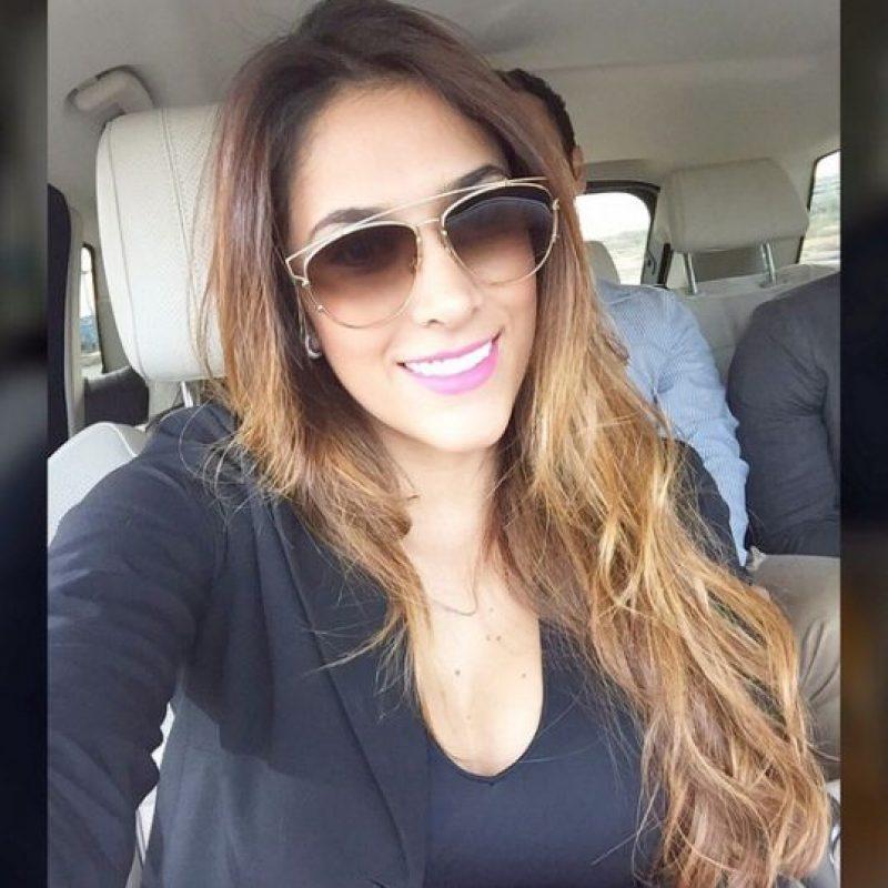 Una de sus últimas selfies. Foto:Instagram Daniela Ospina