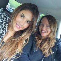 Acá con la reconocida personal shopper Ana Antic. Foto:Instagram Daniela Ospina