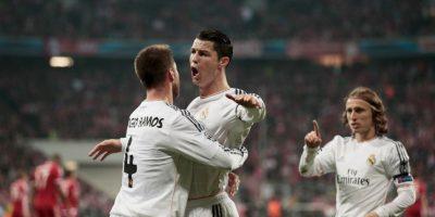 """La temporada pasada, Real Madrid recibió primero al Bayern Múnich. Los """"merengues"""" se impusieron 4-1 en el marcador global Foto:Getty Images"""
