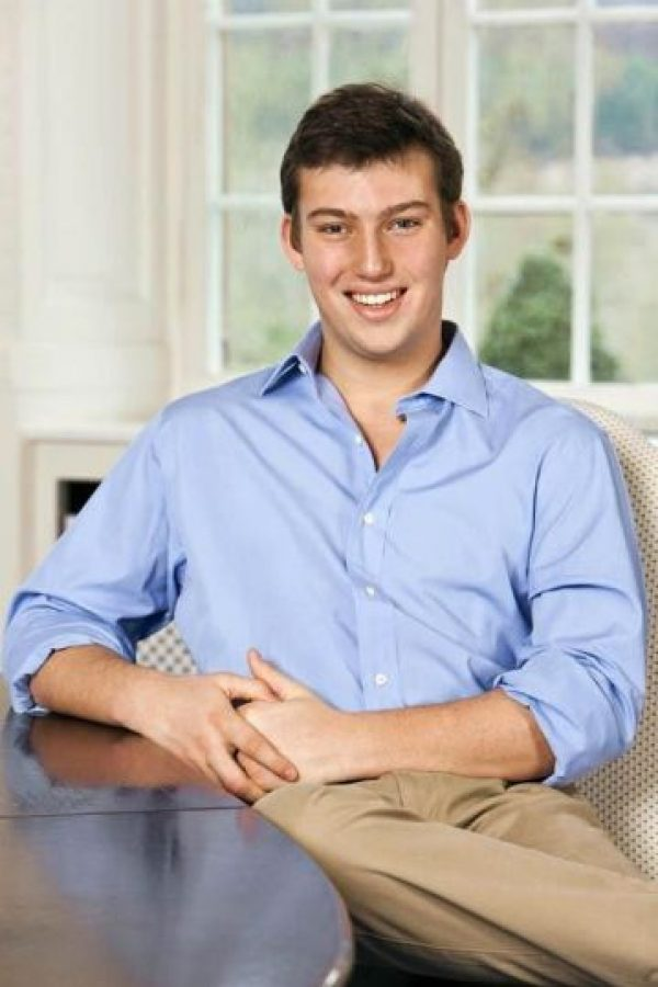 Sebastián de Luxemburgo Foto:Vía facebook.com/princesebastien