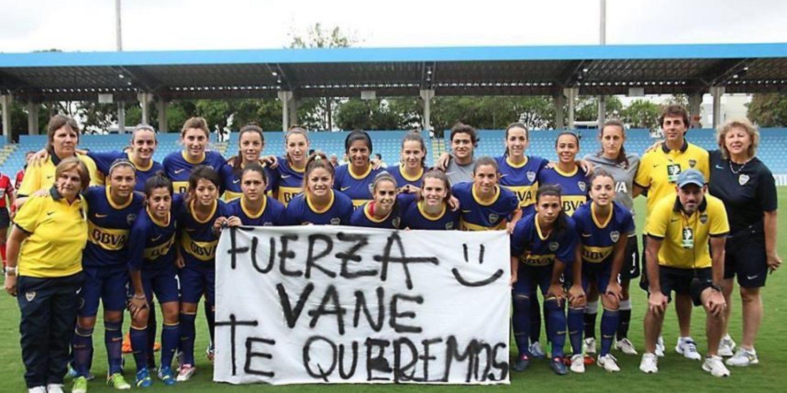 Foto:Vía twitter.com/bocafutfemenino