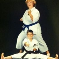 Karate Kid. Foto: Awkward Family Photos