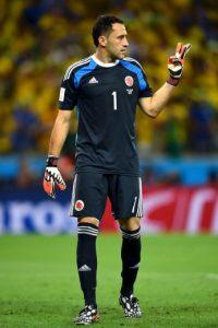 PORTEROS: David Ospina (Arsenal, Inglaterra), Camilo Vargas (Nacional), Cristian Bonilla (Equidad). Foto:Getty Images