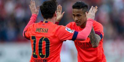 Según reportes de la prensa española, ellos se conocieron cuando Neymar todavía jugaba en Santos de Brasil. Foto:Getty Images