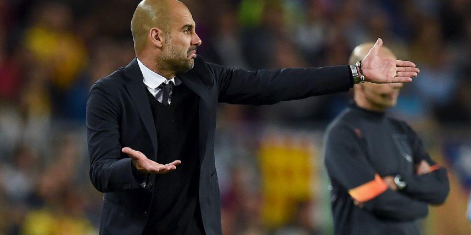 Guardiola sabe que la misión es complicada Foto:Getty Images