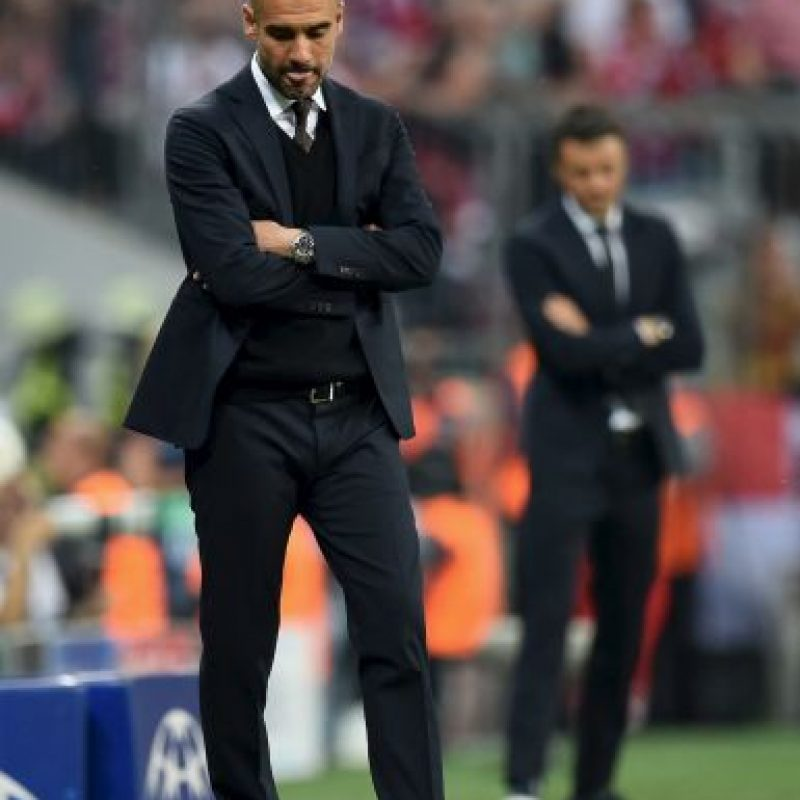 Pep Guardiola y Luis Enrique volvieron a enfrentarse. Foto: Getty Images