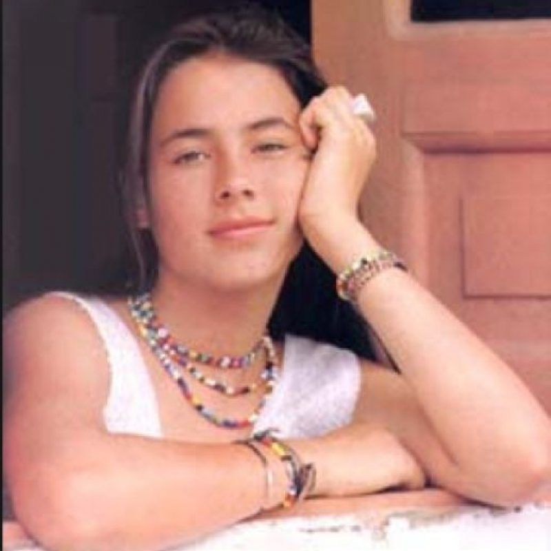 Carla Giraldo antes Foto:Reproducción