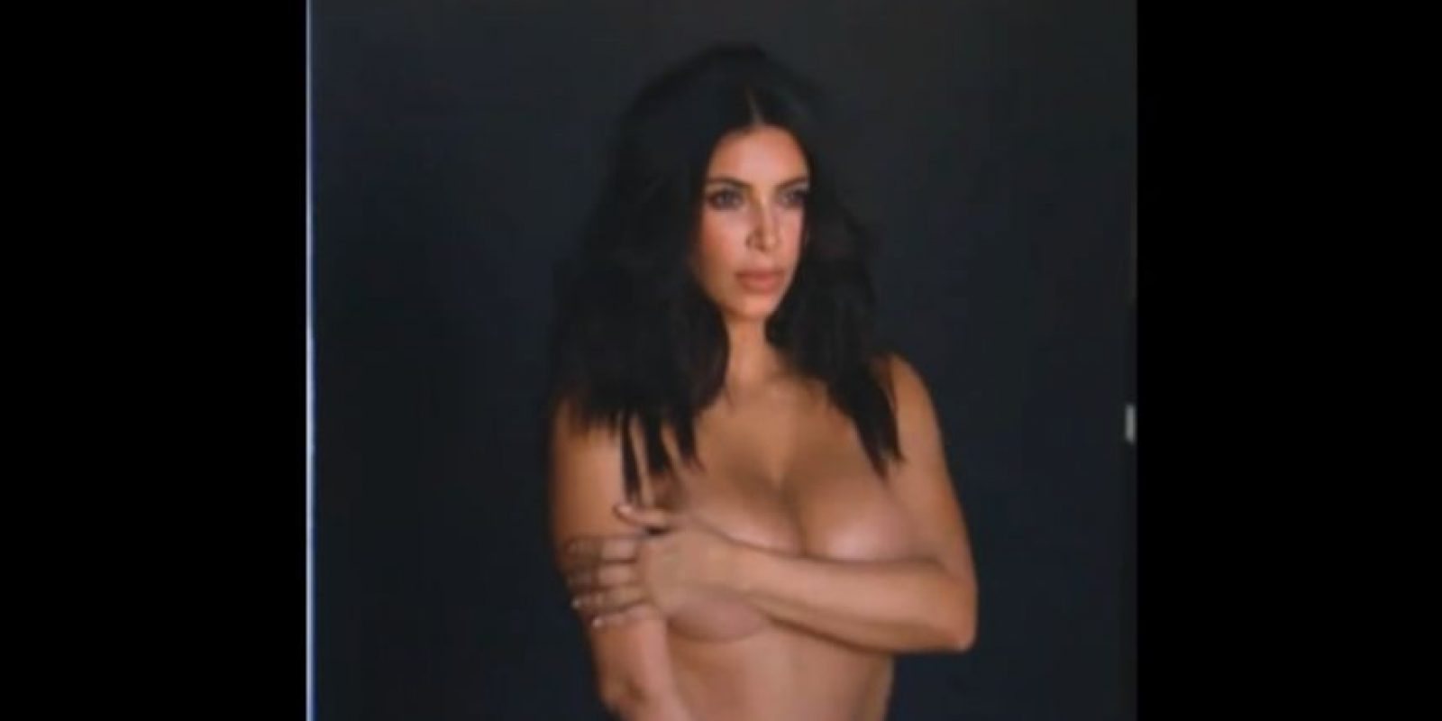 7.- A principios de este año, Kim posó desnuda durante su reality show y fue su esposo, Kanye West, quien se encargó de compartir algunas imágenes en Twitter. Foto:vía twitter.com/kanyewest
