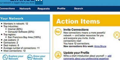 Lanzada en 2003, LinkedIn es una red profesional. Foto:LinkedIn