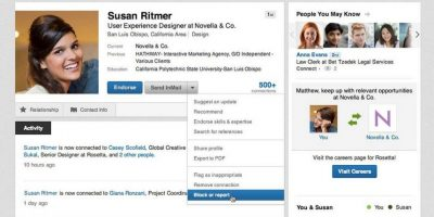 LinkedIn se ve de esta forma en 2015. Foto:LinkedIn