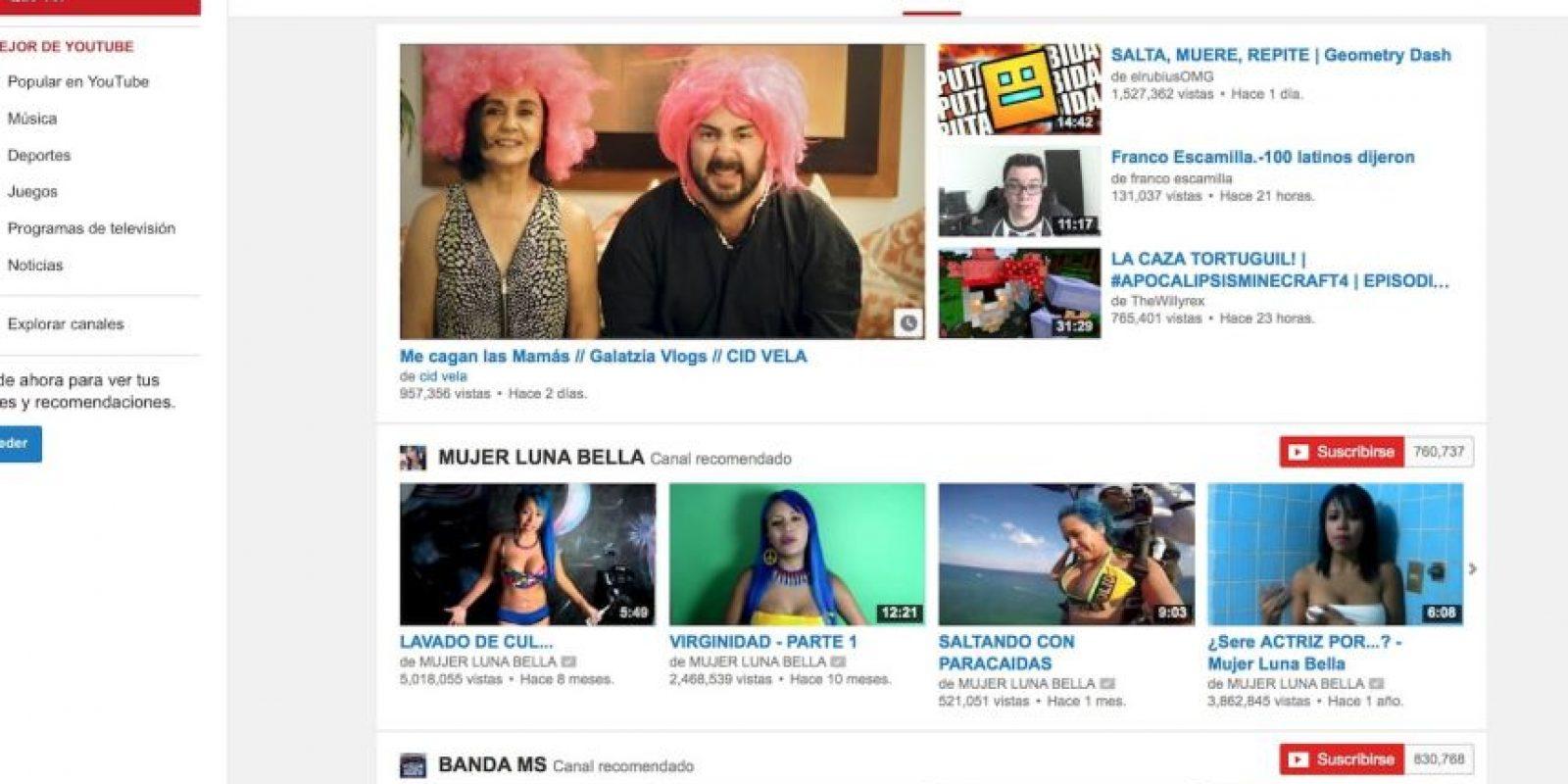 YouTube es la plataforma de videos más importantes de hoy en día. Foto:YouTube