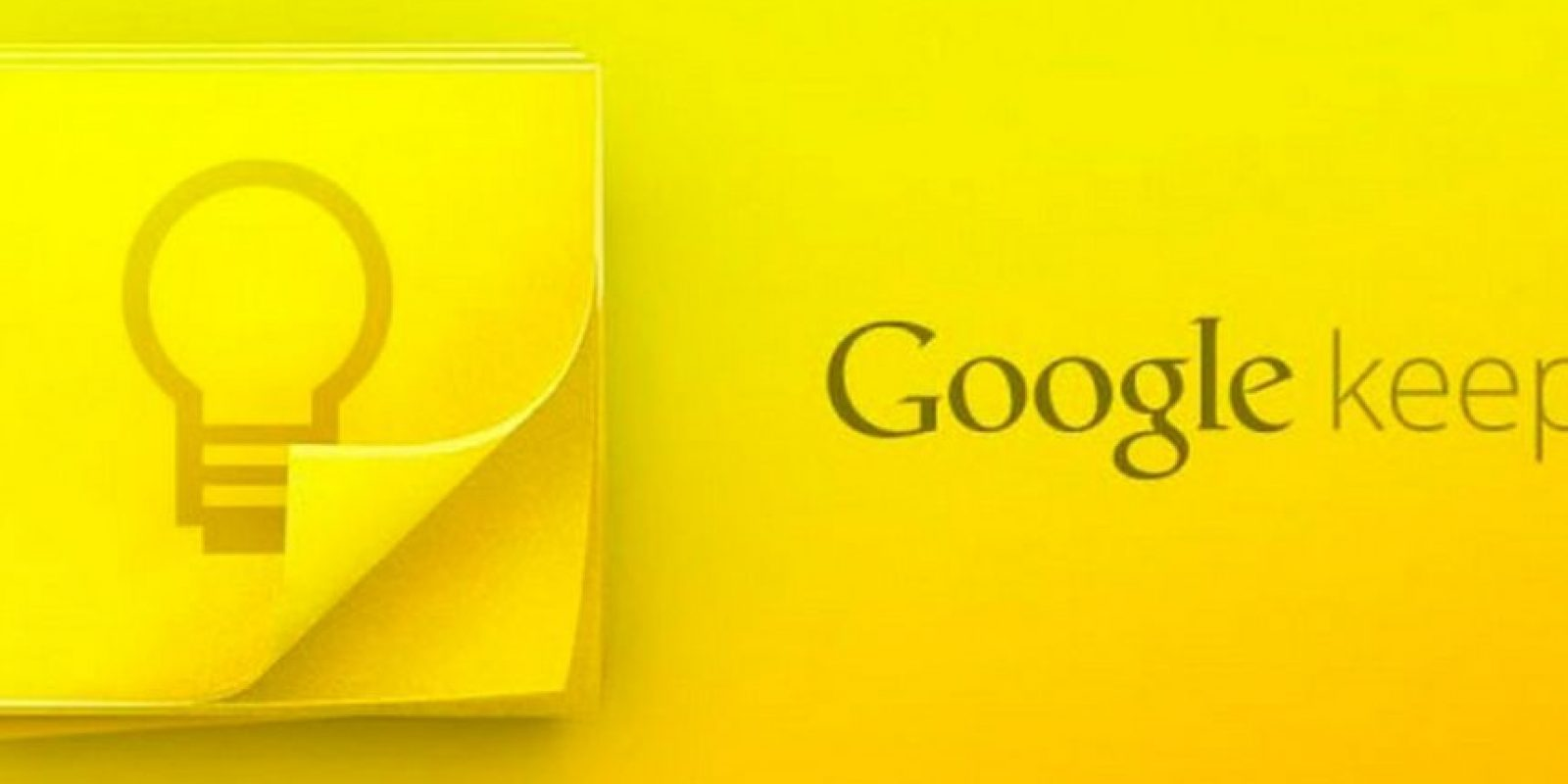 4) Google Keep. Foto: Google Inc.