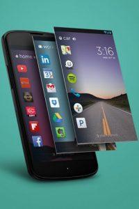 Existen algunas apps que dan la posibilidad de añadir menús en pantallas de bloqueo para tener mayor personalización en su dispositivo y que las apps estén activas. En iPhone no pueden agregar menús nuevos. Foto:Cover