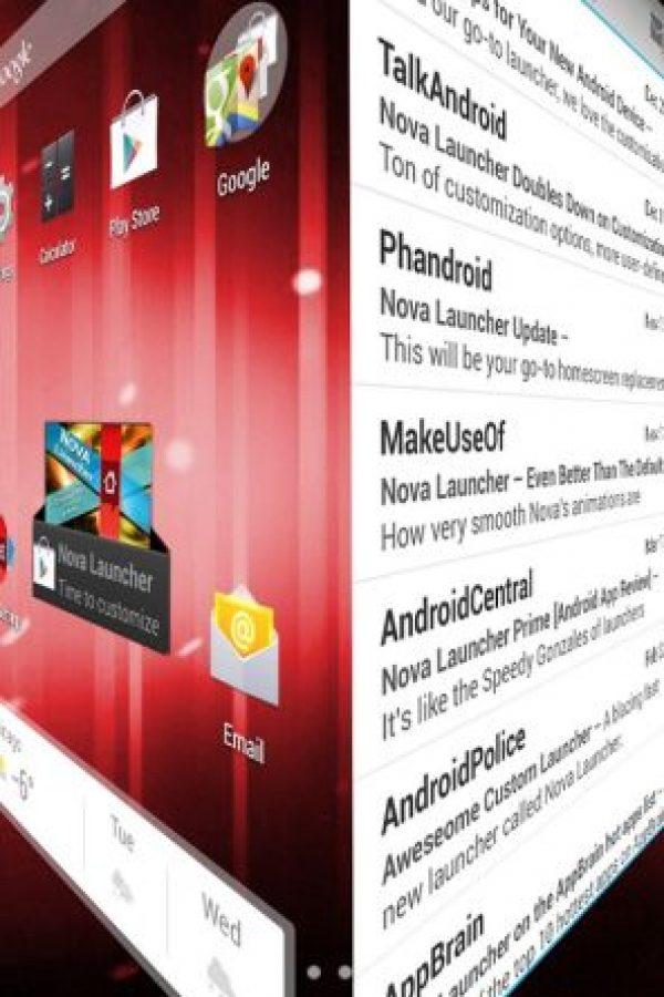 Se trata de programas que cambian el aspecto del dispositivo, desde el fondo de pantalla o los menús hasta la forma de los iconos de las apps. En iPhone no se pueden modificar al gusto del usuario. Foto:TeslaCoil Software