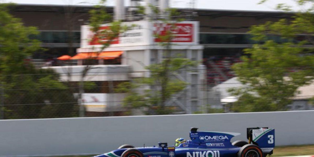 Julian Leal se mantiene en el top diez de la GP2