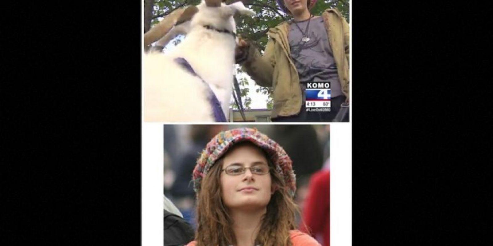 Su imagen se viralizó en Blogspot, en 2005, cuando la trataron de 'feminazi estúpida'. Según Reddit, vive en Ballard y cuida cabras. Dicen que también es hombre. Foto:Reddit.